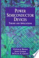 Discrete and Integrated Power Semiconductor Devices Book