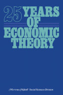 25 Years of Economic Theory