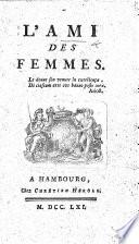 L Ami des femmes  By P  J  Boudier de Villemert Book