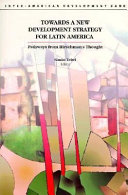 Towards a New Development Strategy for Latin America Book