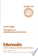 MEMOIRS OF THE AMERICAN MATHEMATICAL SOCIETY NUMBER 281