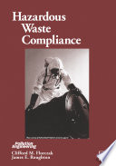 Hazardous Waste Compliance Book