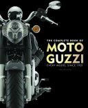 The Complete Book of Moto Guzzi Pdf/ePub eBook