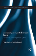 Complexity and Control in Team Sports Pdf/ePub eBook