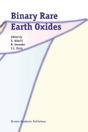 Binary Rare Earth Oxides