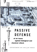Passive Defense of Air Bases Against Biological and Chemical Attack
