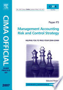 CIMA Exam Practice Kit Paper P3 Management Accounting Risk and Control Strategy