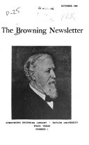 The Browning Newsletter