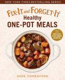 Fix-It and Forget-It Healthy One-Pot Meals Pdf/ePub eBook
