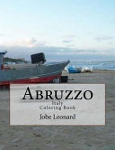 Abruzzo, Itally Coloring Book