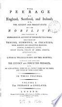 The Peerage of England, Scotland, and Ireland
