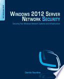 Windows 2012 Server Network Security Book