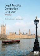 Legal Practice Companion Book