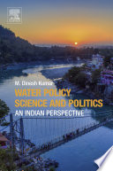 Water Policy Science and Politics Book