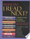 What Do I Read Next? 2003