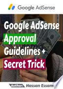 Google AdSense Approval Guidelines   Secret Trick