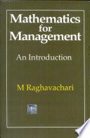 Mathematics for Management