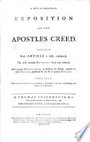 A New And Practical Exposition Of The Apostles Creed Etc