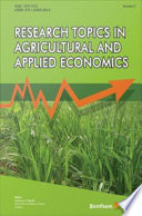 Research Topics in Agricultural and Applied Economics Book