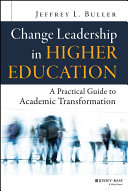 Change Leadership in Higher Education Pdf/ePub eBook
