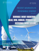 Renewable Energy Engineering: Solar, Wind, Biomass, Hydrogen and Geothermal Energy Systems.
