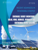 Renewable Energy Engineering  Solar  Wind  Biomass  Hydrogen and Geothermal Energy Systems