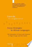 Focus Strategies In African Languages Book PDF