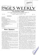 Page's Engineering Weekly