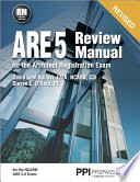 ARE 5 Review Manual for the Architect Registration Exam
