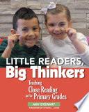 Little Readers  Big Thinkers Book PDF