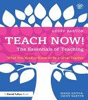 Teach Now! The Essentials of Teaching [Pdf/ePub] eBook