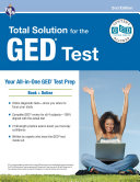 GED®Test, REA's Total Solution for the GED® Test, 2nd Edition