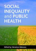 Social inequality and public health Pdf/ePub eBook