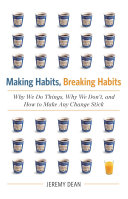 Pdf Making Habits, Breaking Habits Telecharger