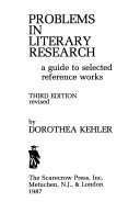 Problems In Literary Research