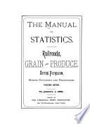 The Manual of Statistics Book
