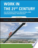 Cover of Work in the 21st Century, Binder Ready Version