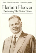 Herbert Hoover  President of the United States Book PDF