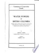 Water Powers of British Columbia