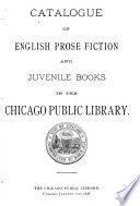 Catalogue of English Prose Fiction and Juvenile Books ...