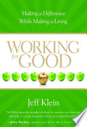 Working for Good Book PDF