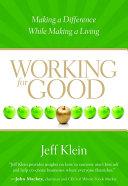 Working for Good Pdf/ePub eBook
