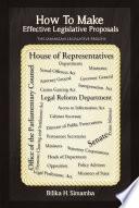 How To Make Effective Legislative Proposals