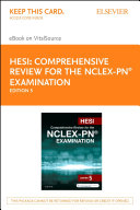HESI Comprehensive Review for the NCLEX-PN® Examination - E-Book [Pdf/ePub] eBook