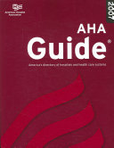 Aha Guide to the Health Care 2007 Field