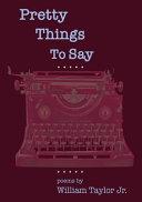 Pretty Things To Say Pdf/ePub eBook