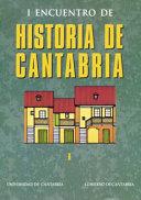 I Encuentro de Historia de Cantabria