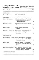 The Journal Of Library History Book PDF