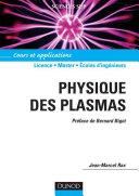 Pdf Physique des plasmas Telecharger