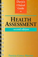 Davis s Clinical Guide to Health Assessment Book